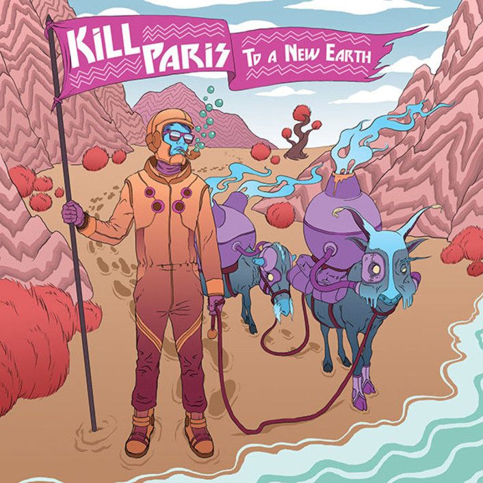 Kill Paris - To A New Earth EP : Electro-Soul / Future-Funk EP Feat. Remixes from GRiZ, Gramatik, K Theory, Candyland, Robert DeLong - Featured Image