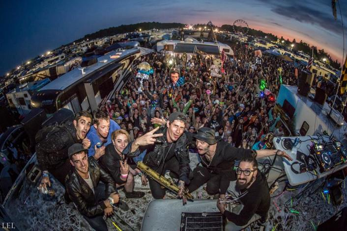Big Gigantic & Cherub Played On Top Of RV's For An Epic Electric Forest After Party - Featured Image