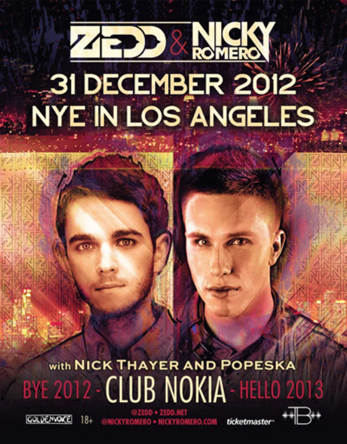 [CONTEST] Nicky Romero & Zedd New Years Eve at Club Nokia VIP Experience Giveaway - Featured Image