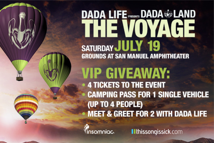 Dada Life Is Throwing Dada Land Festival With Madeon, Oliver Heldens, Brillz and More + Contest - Featured Image