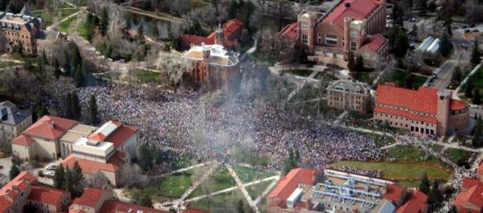 Cu Boulder 420 Smokeout Video 2011 (Biggest Weed Smoking Gathering Ever): featuring Tayyib Ali - Featured Image