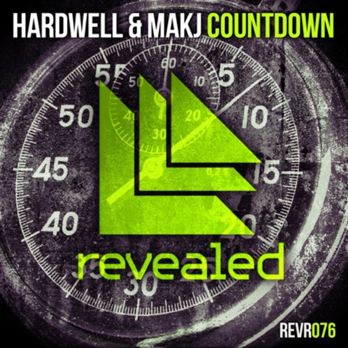 Hardwell & MAKJ - Countdown : Massive Electro House Anthem Available Now - Featured Image