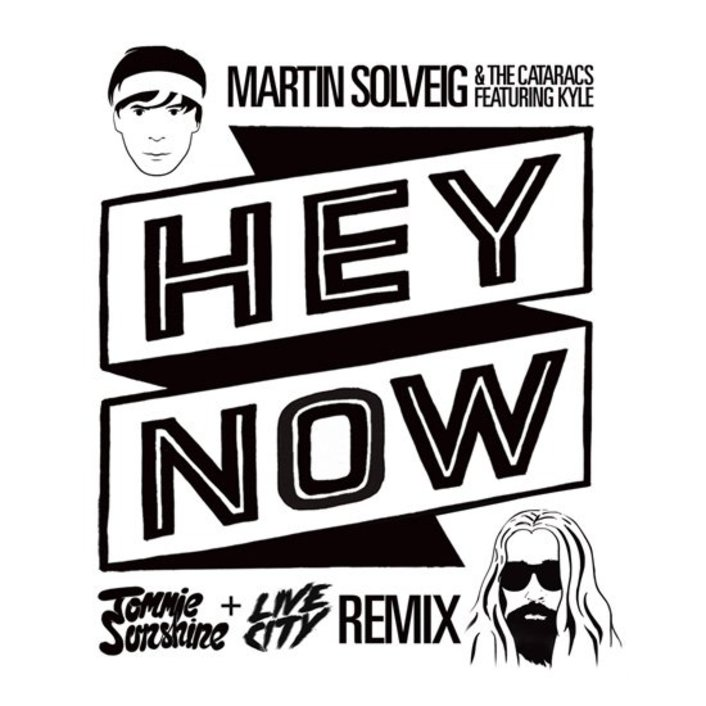 Martin Solveig & The Cataracs - Hey Now feat. Kyle (Tommie Sunshine & Live City Remix) : Huge Electro House Remix - Featured Image
