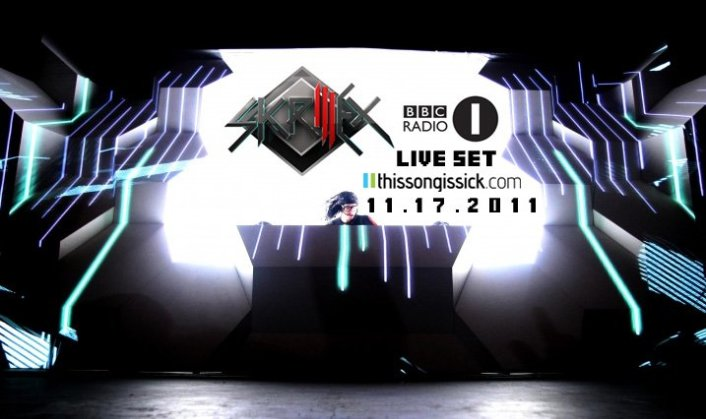 Skrillex BBC Radio 1 Essential Mix :  Must Hear New Dubstep / Electro 20 Minute Mix - Featured Image