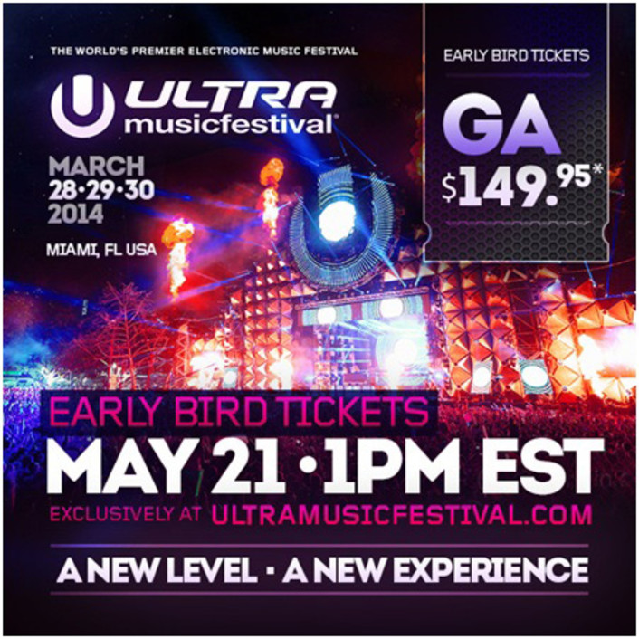 Ultra Music Festival 2014 Date & Early Bird and Regular Tickets Going On Sale - Featured Image