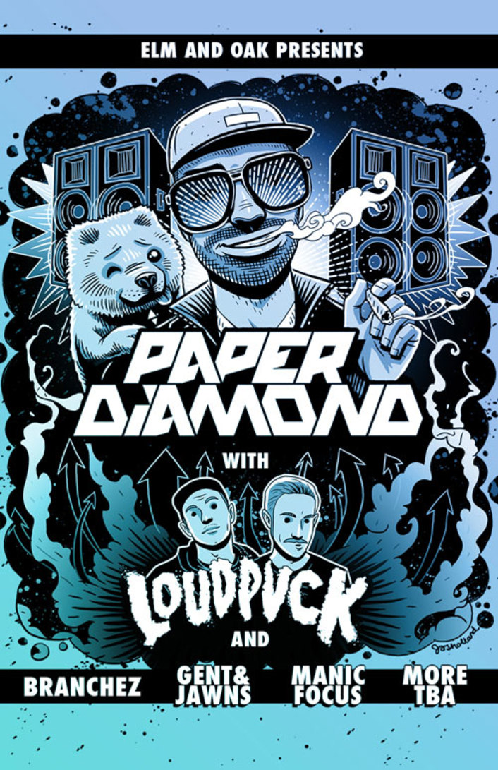Paper Diamond Announces Huge 2014 Headlining Tour with Pre-Sale Ticketing Available Now and New Mix - Featured Image