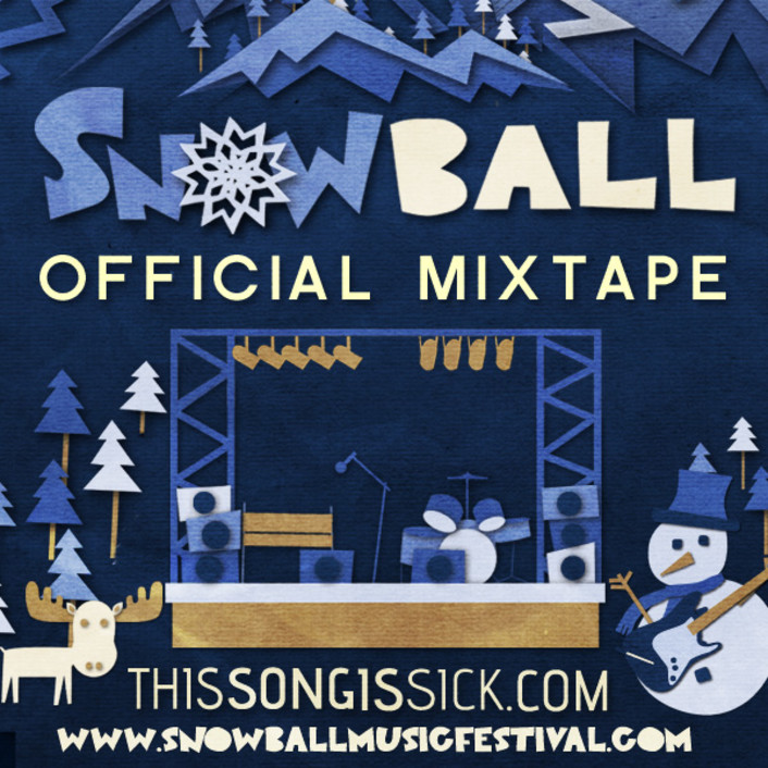 The Snow Ball Music Festival Official Mixtape: Music From Pretty Lights, Bassnectar, Paper Diamond, Local Natives and More - Featured Image
