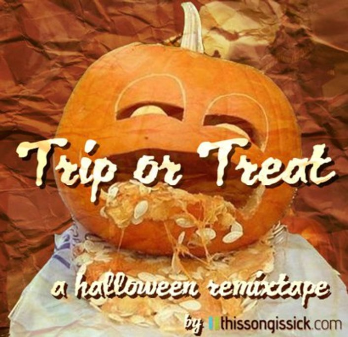 Trip or Treat: A Halloween Remixtape : A Mixtape with 19 Electronic Halloween Remixes - Featured Image