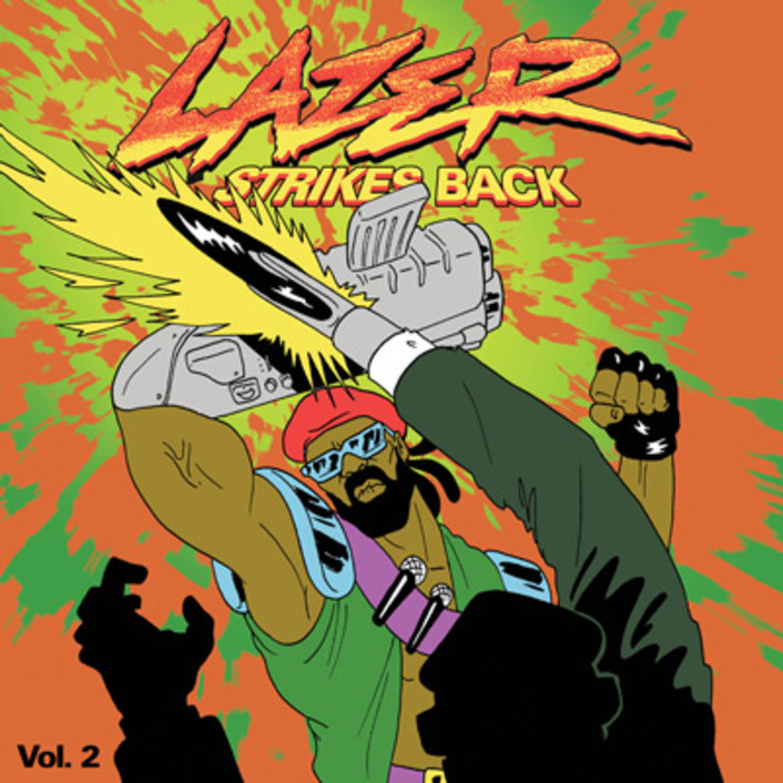 Major Lazer – Lazer Strikes Back Volume 2 : 4 Song Free EP Featuring Flosstradamus, Baauer, Blood Diamonds - Featured Image