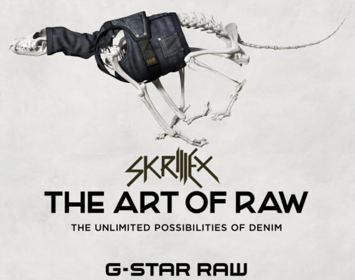 "UPDATED: Skrillex - Art of Raw (Unreleased) : New Song ""Puppy"" Used for Incredible G-Star Denim Collaboration Video Animation - Featured Image"