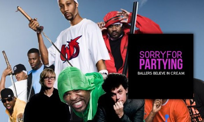 Sorry For Partying - Ballers Believe In C.R.E.A.M (Wu-Tang Clan vs Simian Mobile Disco vs Lil Troy): SICK NEW ELECTRONIC/RAP SONG - Featured Image