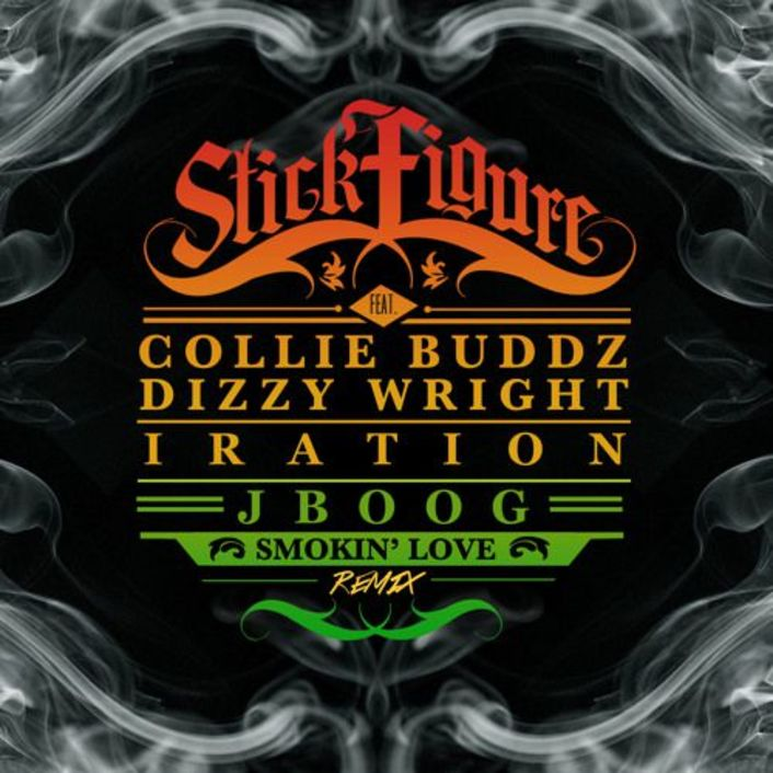 Stick Figure - Smokin' Love (Remix Ft. Collie Buddz, J BOOG, Iration, and Dizzy Wright) : Must Hear Reggae Collaboration [Limited Free Download] - Featured Image