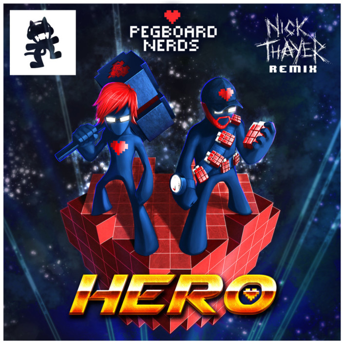 [TSIS PREMIERE] Pegboard Nerds - Hero (Nick Thayer Remix) : Massive Electro / Dubstep Remix [Free Download] - Featured Image