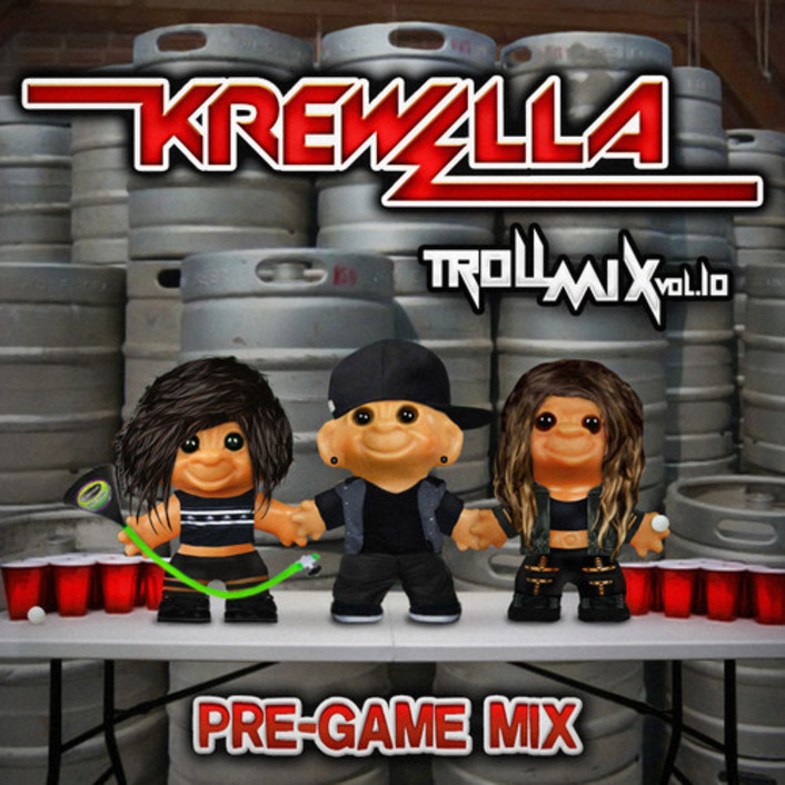 Krewella - Troll Mix Vol. 10 Pre-Game Edition :  Electro / Trap / Dubstep / Hip-Hop [Free Download] - Featured Image