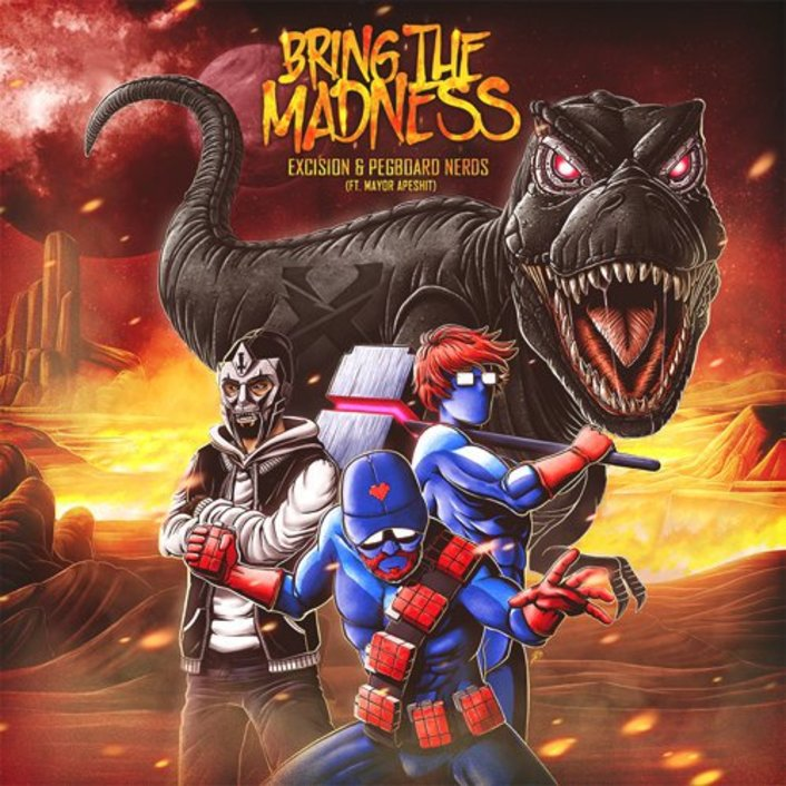 "Excision & Pegboard Nerds Team Up For Extra Filthy ""Bring the Madness""  - Featured Image"