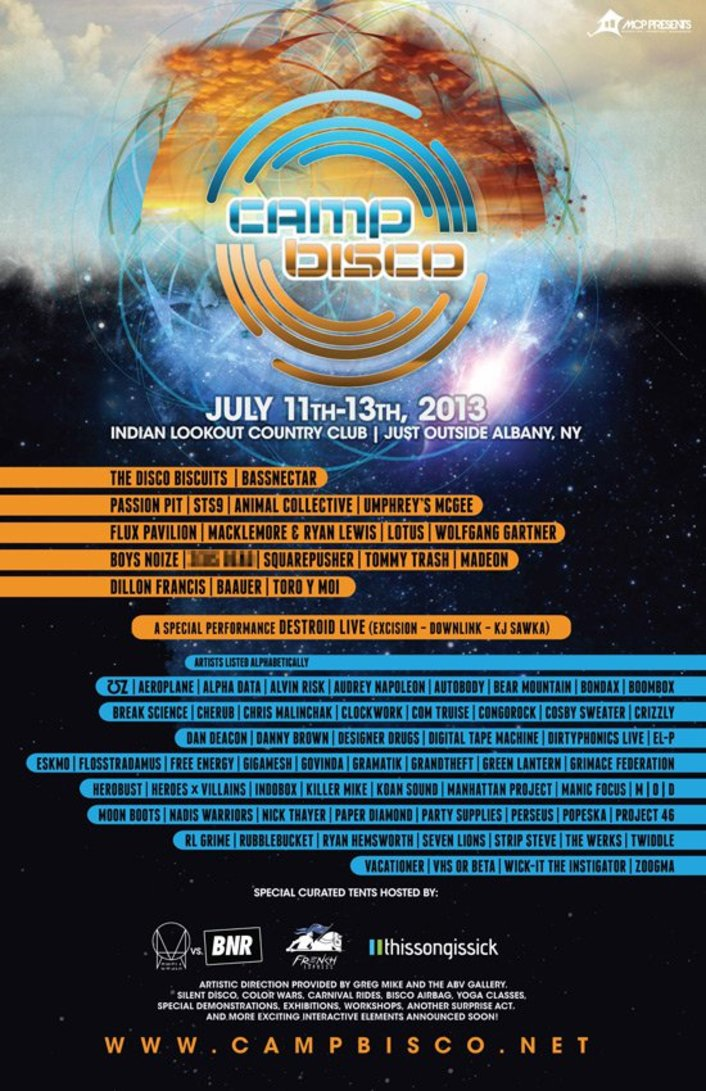 This Song Is Sick Stage at Camp Bisco 2013: Details, Lineup Additions and More - Featured Image