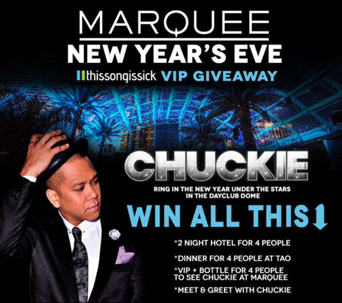 Hang Out with Chuckie On New Year's Eve At Marquee Las Vegas Plus Comped VIP Table and Bottle For Show - Featured Image