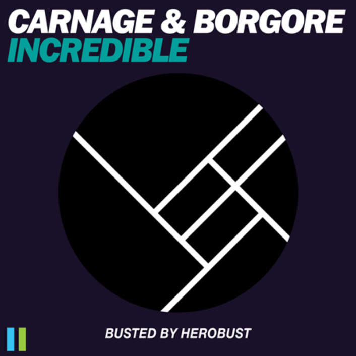 Carnage & Borgore - Incredible (BUSTED by heRobust) : Massive Trap Remix [TSIS PREMIERE] - Featured Image