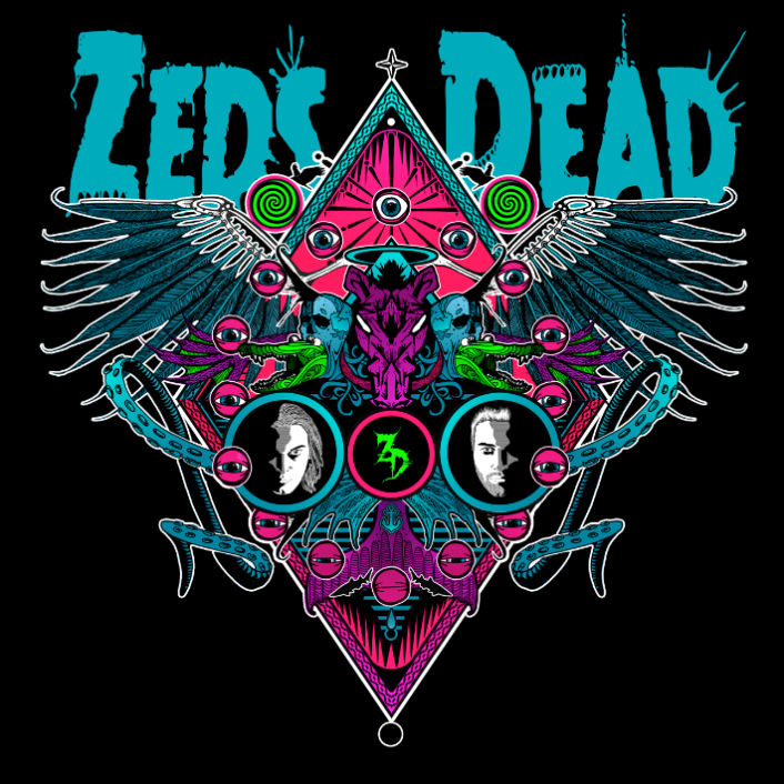 Zeds Dead drops off new free 4 song EP in spirit of 35 new date 'Altered States Tour' with Paper Diamond, Dj Green Lantern and Branchez - Featured Image