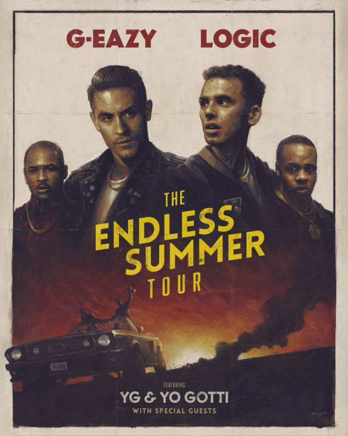"""G-Eazy & Logic Announce Collab """"Endless Summer Tour"""" - Featured Image"""