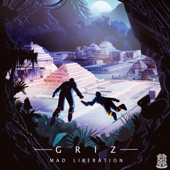 GRiZ - Mad Liberation (Album) : Must Hear Full Electro Soul / Dubstep / Future Funk Free Album  - Featured Image