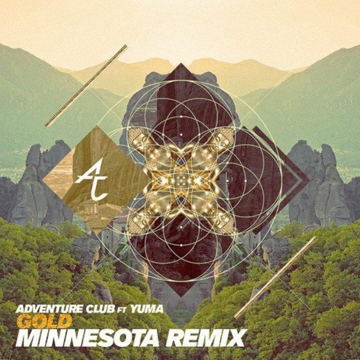 Adventure Club - GOLD ft. Yuna (Minnesota Remix) : Amazing Glitch Hop Remix - Featured Image