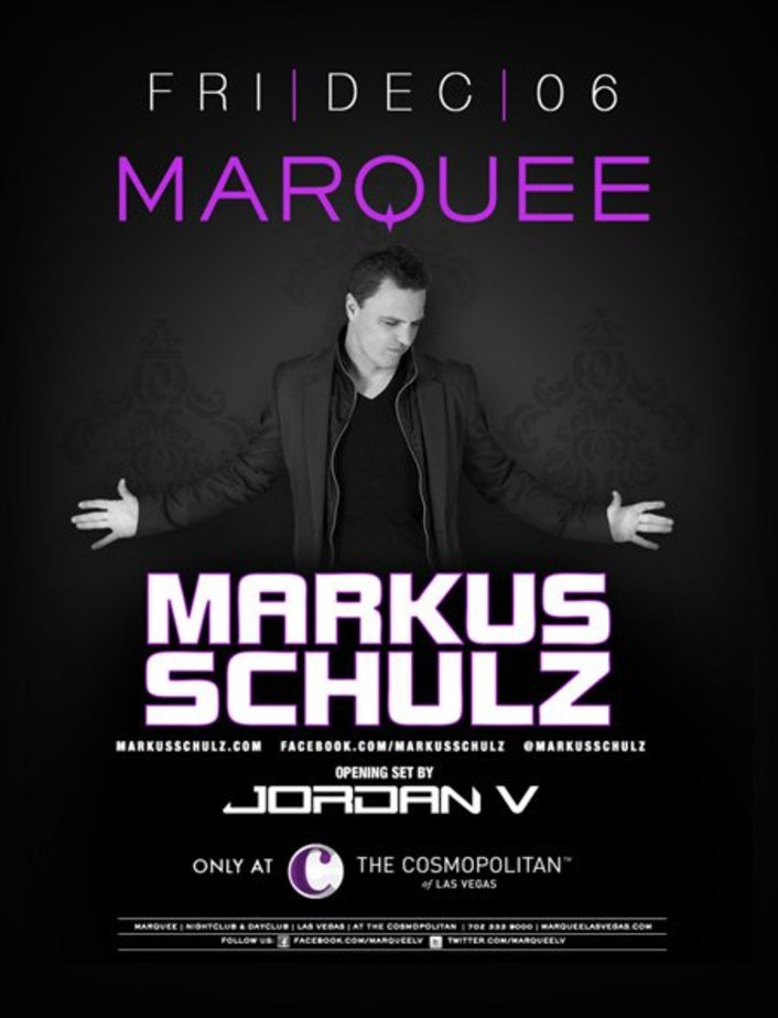 Win A 4 Person VIP Table with Bottle to Markus Schulz at Marquee Night Club in Las Vegas - Featured Image