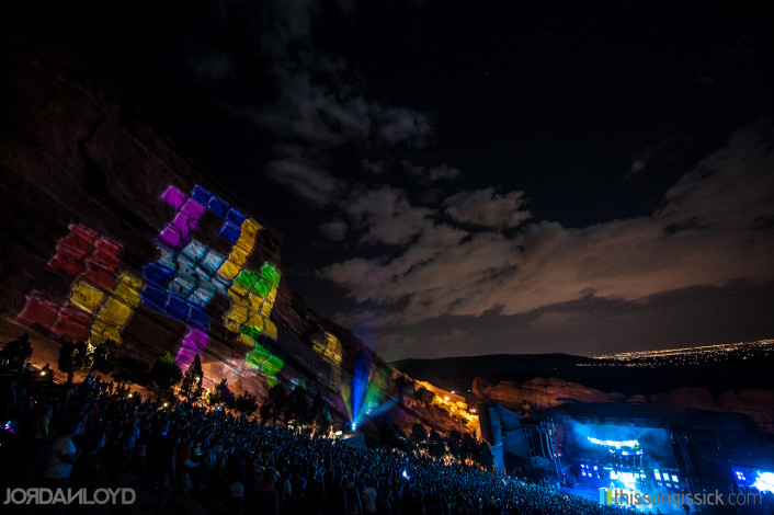 """Big Gigantic - """"Rowdytown 2012"""" at Red Rocks Presented by Thissongissick.com Official Video Recap, Full Review & Photo Gallery (ft. Macklemore, Dillon Francis, GRiZ, Raw Russ) [REVIEW] - Featured Image"""