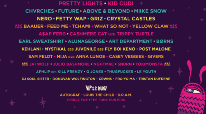 Buku Music & Art Project Announces Exciting 2016 Lineup Ft. Pretty Lights, GRiZ, Crystal Castles, Fetty Wap, Tchami and 50 More - Featured Image