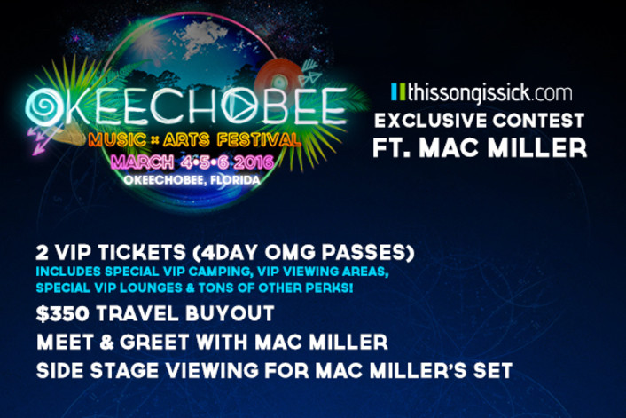Win VIP 4-DAY PASSES + TRAVEL To Okeechobee Music & Arts Festival & Meet Mac Miller - Featured Image