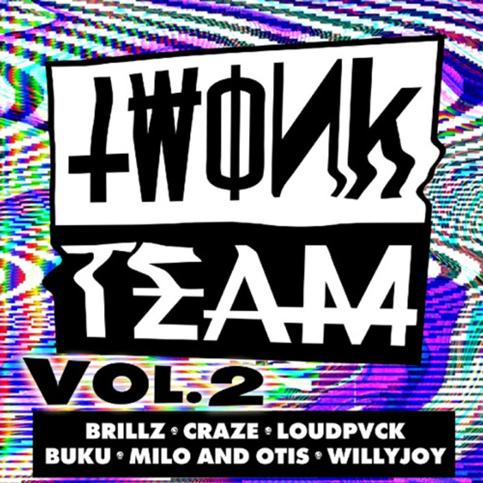 Unreleased Tracks From Trap Titans LOUDPVCK, Brillz, Milo and Otis, Craze, Willy Joy, & and Buku Featured in Twonk Team Vol.2 Mix - Featured Image