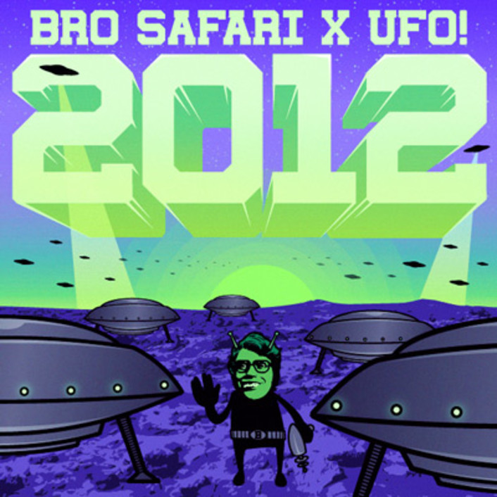 Bro Safari & UFO! - 2012 : Extra Fresh Original Trap Single [FREE DOWNLOAD] - Featured Image