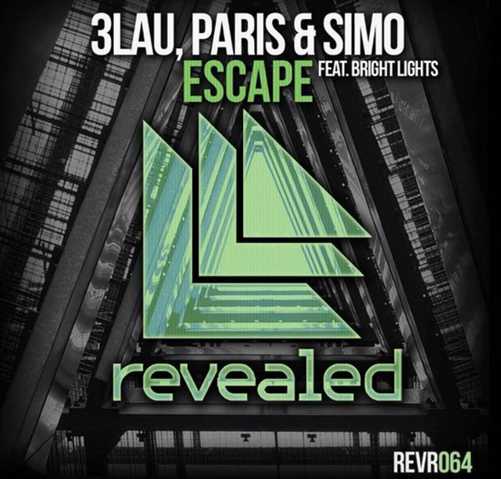 3LAU, Paris & Simo - Escape Ft. Bright Lights : Progressive House Collaboration on Hardwell's Revealed Recordings - Featured Image