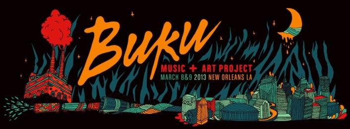 Buku Music & Art Project 2013 Lineup + Details : Kid Cudi, Calvin Harris, Passion Pit, Kendrick Lamar, STS9, Nero, Flux Pavillion, Big Gigantic & More! - Featured Image