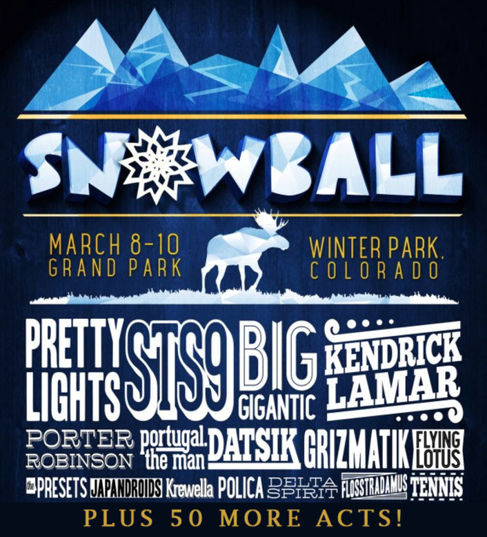 [CONTEST] SnowBall Music Festival 2013 After Parties & VIP Giveaway : Contest, Set Times, After Parties, Shuttle Info - Featured Image