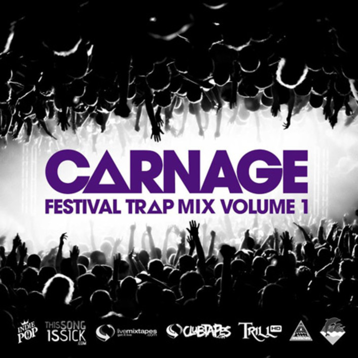 Carnage - Festival Trap Mix Vol. 1 : Trap Mix With Unreleased Remixes of Dada Life, Quintino, and More [TSIS PREMIERE] - Featured Image