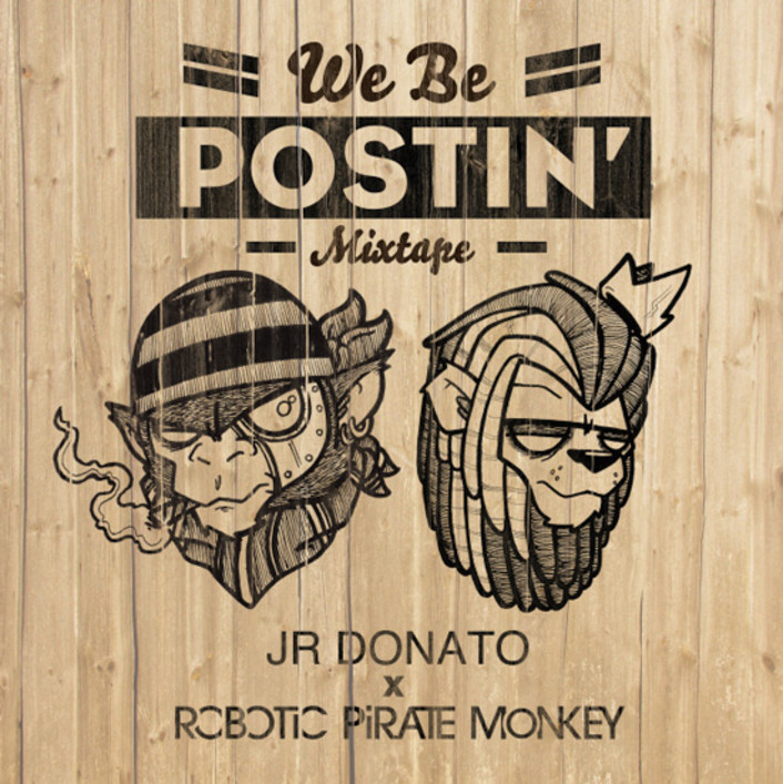 "[PREMIERE] Robotic Pirate Monkey & Taylor Gang Artist J.R. Donato - ""We Be Postin' EP"" Hip-Hop / Bass [Free Download] - Featured Image"