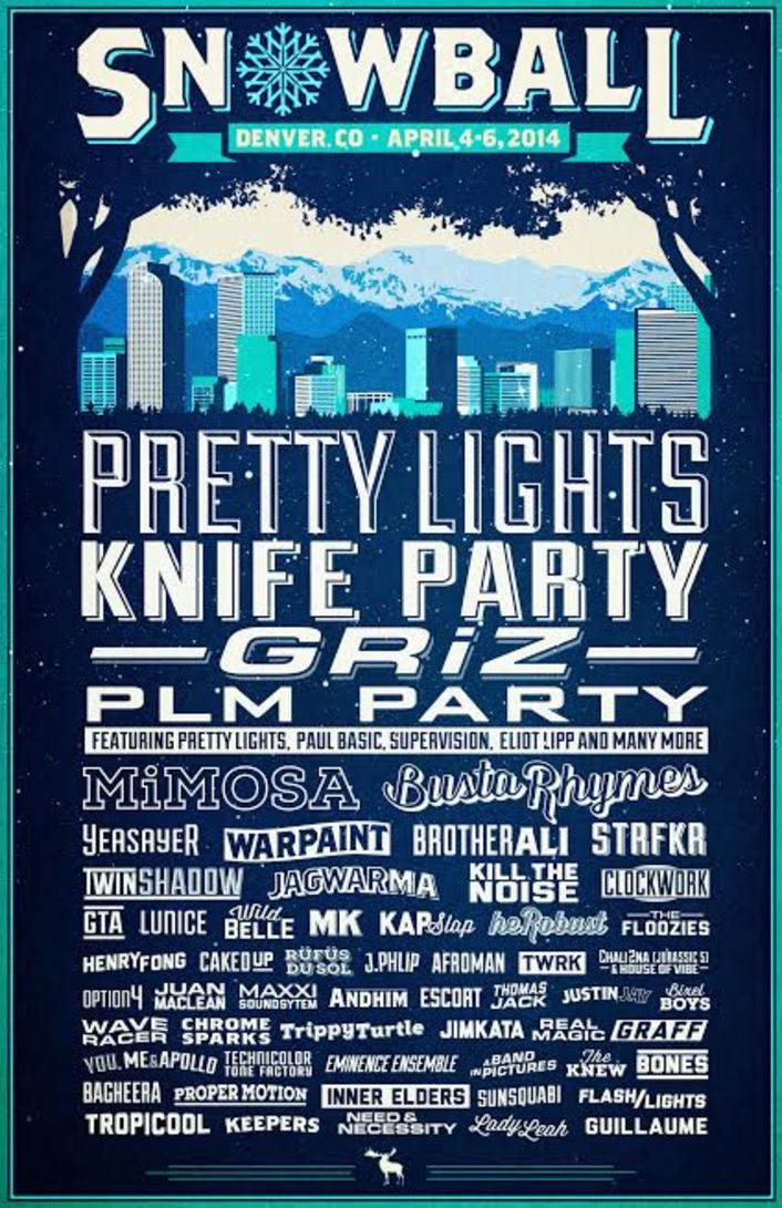 [PREMIERE] SnowBall Music Festival 2014 Announces Huge Lineup For New Denver Location - Featured Image