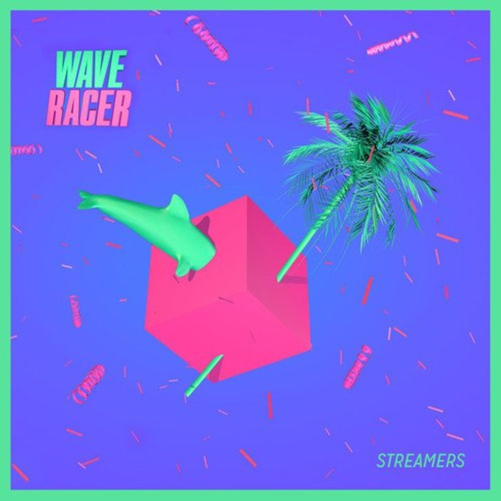 """Wave Racer Releases Incredible Tropical 8-Bit Future Bass Original """"Streamers"""" - Featured Image"""