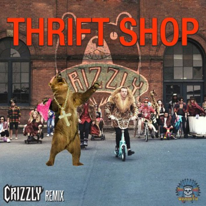Macklemore & Ryan Lewis – Thrift Shop (Crizzly Remix) : Bass / Crunkstep / Moombahton Remix [Free Download] - Featured Image