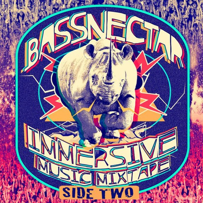 Bassnectar - Immersive Music Mixtape - Side Two : Hour Long Bass Mixtape filled with Unreleased Remixes [Free Download] - Featured Image