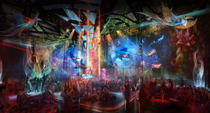 Cirque Du Soleil teams up to create LIGHT Nightclub in Las Vegas with Residents Skrillex, Sebastian Ingrosso, Zedd and Baauer - Featured Image