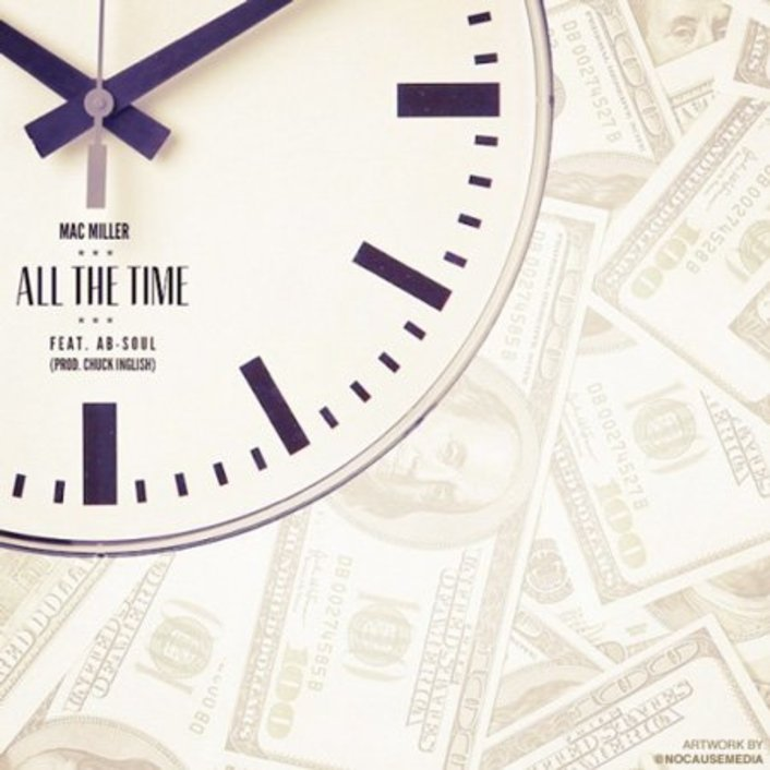 Mac Miller ft. Ab-Soul - All The Time (prod. Chuck Inglish) : Fresh Hip-Hop - Featured Image