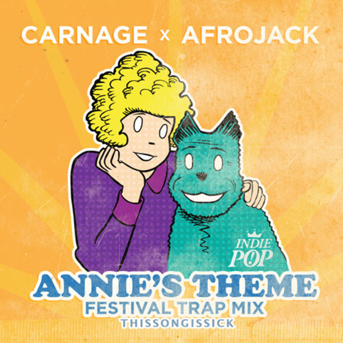 Afrojack - Annie's Theme (Carnage Festival Trap Remix) : Massive Trap Remix [TSIS PREMIERE] - Featured Image