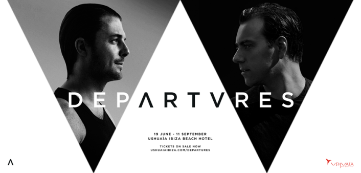 Axwell & Sebastian Ingrosso's new project 'Departures' Residency at Ushuaia Ibiza sets Dates, Tickets, Full Schedule of Friends - Featured Image