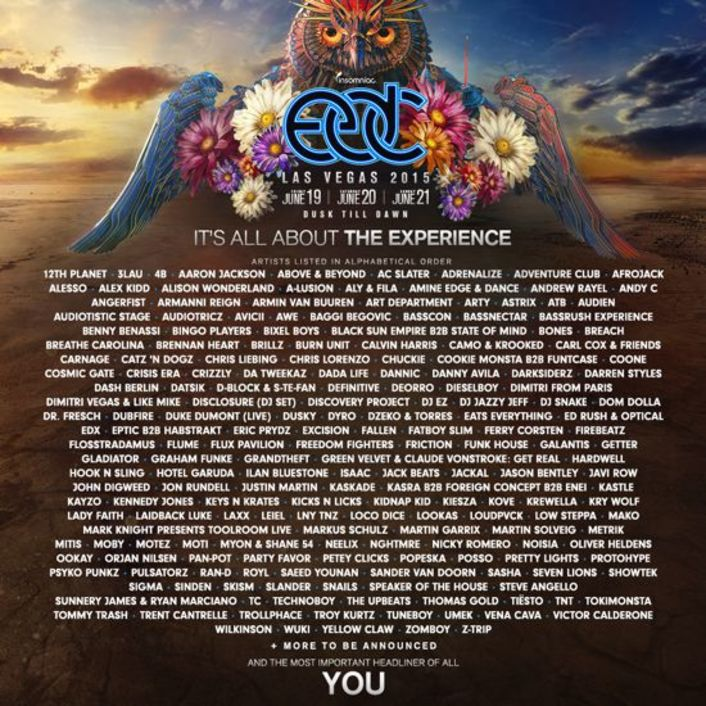EDC Las Vegas 2015 Features A Stacked Lineup Of Over 150 Headliners - Featured Image