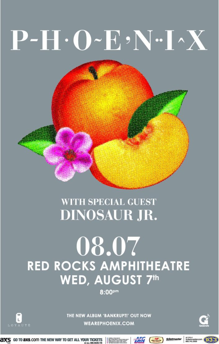 [GIVEAWAY] Win VIP tickets to see Phoenix as they play Red Rocks Amphitheatre August 6th - Featured Image