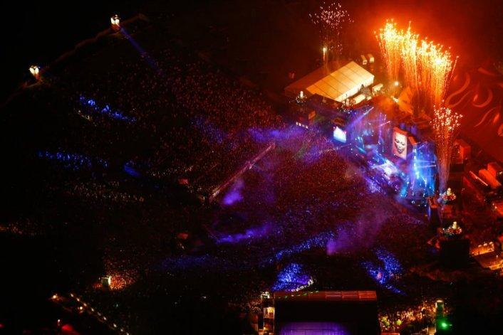 Skrillex Live Set from TomorrowLand 2012 (Belgium) Music Festival (Live Set + Video) - Featured Image