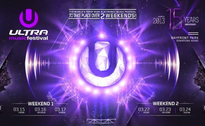 Ultra Music Festival 2013 'Huge Announcement' Will Take Place Over 2 Weekends : Dates, Early Bird Tickets On Sale - Featured Image