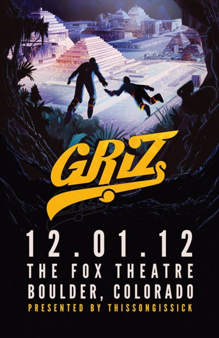 Thissongissick.com Presents GRiZ at The Fox Theatre in Boulder, CO 12/1/12 | Tickets On Sale + Music - Featured Image